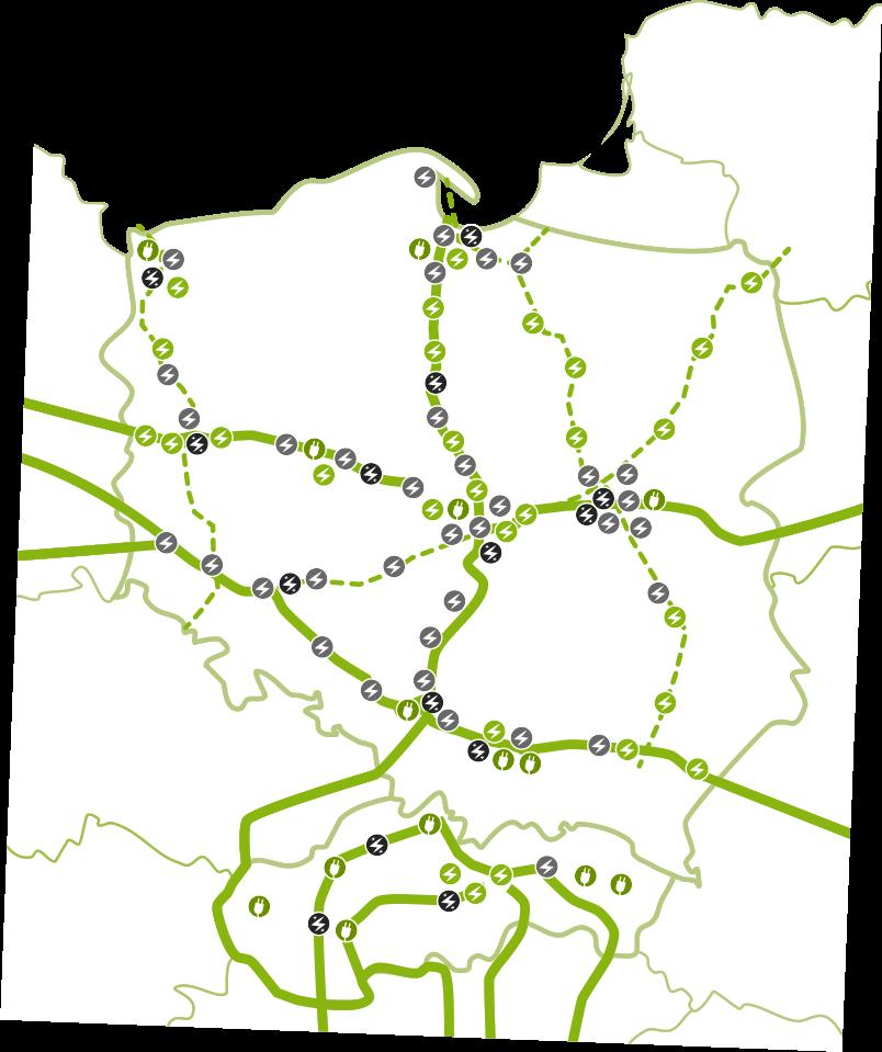 Mapa ładowarek